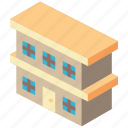 biulding, building, condo, iso, isometric, real estate