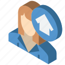 agent, building, iso, isometric, real estate, sales icon