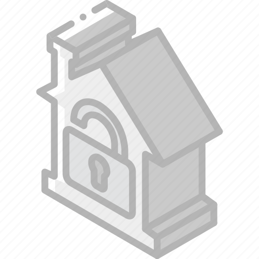 building, house, iso, isometric, real estate, unlocked icon