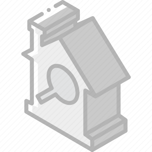 Building, house, iso, isometric, real estate, search icon - Download on Iconfinder