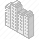 building, buildings, iso, isometric, real estate icon