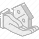 building, discount, house, iso, isometric, real estate icon