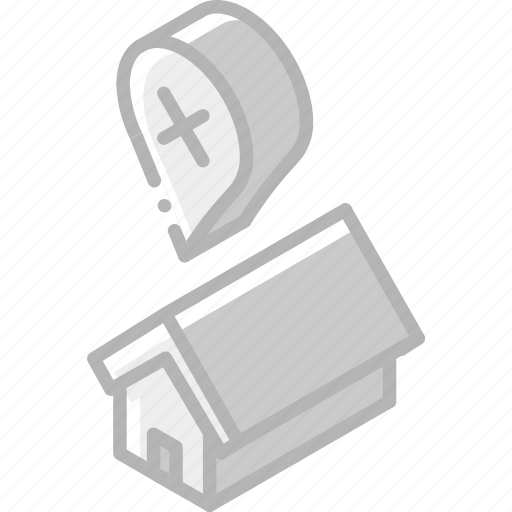 Building, error, iso, isometric, real estate, sale icon - Download on Iconfinder