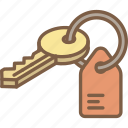 building, house, iso, isometric, keys, real estate icon