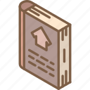 building, catalog, house, iso, isometric, real estate icon