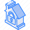 building, isometric, unlocked, house, iso, real estate