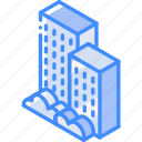 building, iso, isometric, real estate