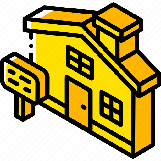Building, house, iso, isometric, real estate icon - Download on Iconfinder