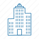 apartment, building, estate, flats, real icon