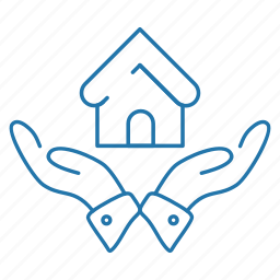 business, estate, house, real, safe icon