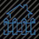 business, estate, real, villa icon