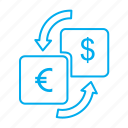 converter, currency, real estate, transfer icon