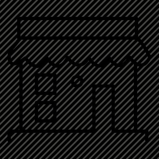 estate, real, shop, store icon