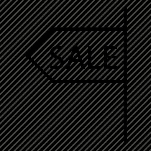 badge, banner, board, sale icon