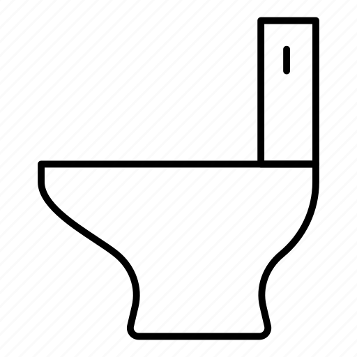 bathroom, commode, toilet, washroom icon