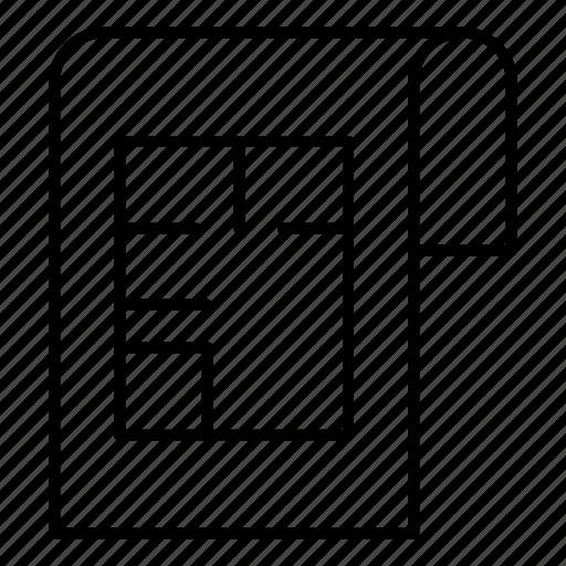 design, document, file, house icon