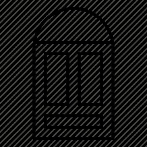door, enter, interior, open icon
