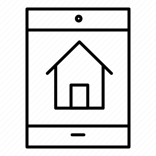 device, home, mobile, real icon