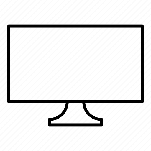 lcd, monitor, screen, tv icon