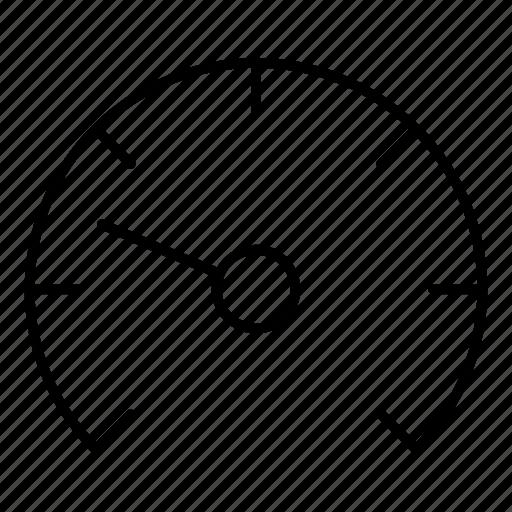 gauge, meter, speed, tool icon