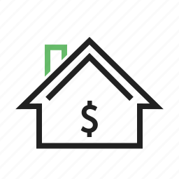 appartment, estate, family, home, house, property, residential icon