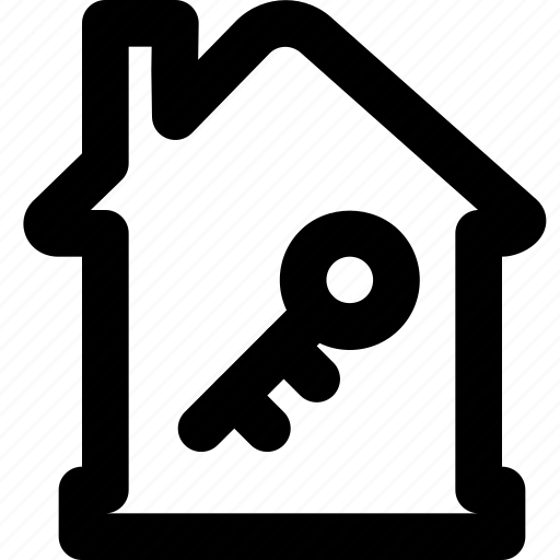 estate, home, house, key, property, real icon
