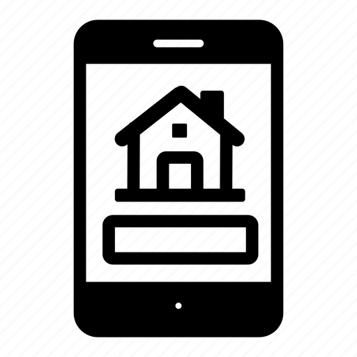app, business, mobile, property, real estate icon