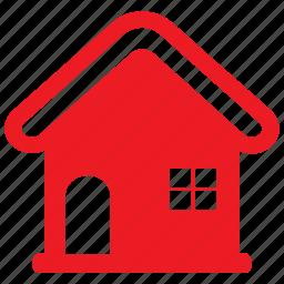 address, apartment, estate, home, house, property icon