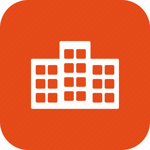 apartment, building, house, office icon