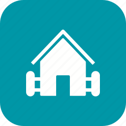 barn, farm, house, hut icon