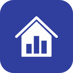 chart, graph, pie chart, real estate stats, report, statistics, stats icon