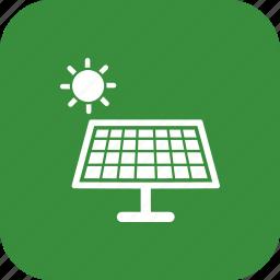 energy, green energy, renewable energy, solar, solar panels, solar power, solar system icon