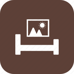 bed, bed room, bedroom, dining room, kids room, living room, room icon