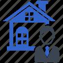 adviser, agent, consultant, estate, real, support icon