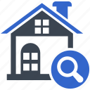 apartment, designed find, find, real estate, search icon