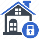 home, insurance, protection, security, shield icon