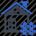 area, barrier, border, boundary, fence icon