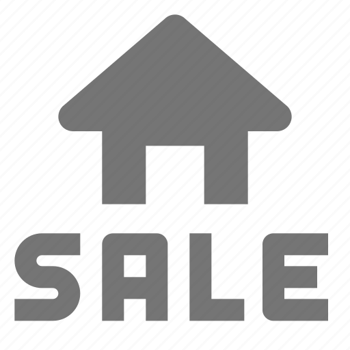 home, house, real estate, sale icon