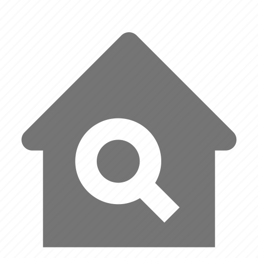 home, house, search, view icon
