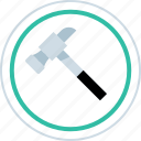 build, create, hammer, tool icon