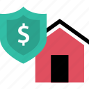 home, sale, security, value icon