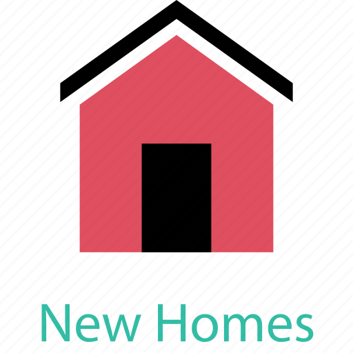 homes, house, houses, new icon