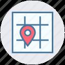 address, google map, location, map, map pin, maps, street