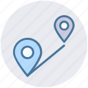address, connect, location, map, maps, pins, street icon