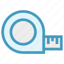 cartoon, centimeter, inch, inch tape, scale, tailor, tape icon