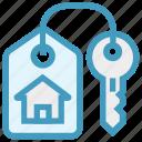 apartment, home, house, house key, key, lock, real estate