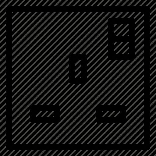 electric, electric board, plug, power, socket, switch icon