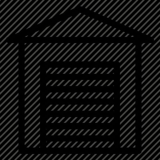 Garage, automobile, car, transportation, travel, vehicle icon - Download on Iconfinder