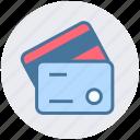 atm card, banking, card, credit card, debit card, smart card, visa card icon