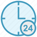 24 house, around the clock, clock, nonstop, real estate, time, watch